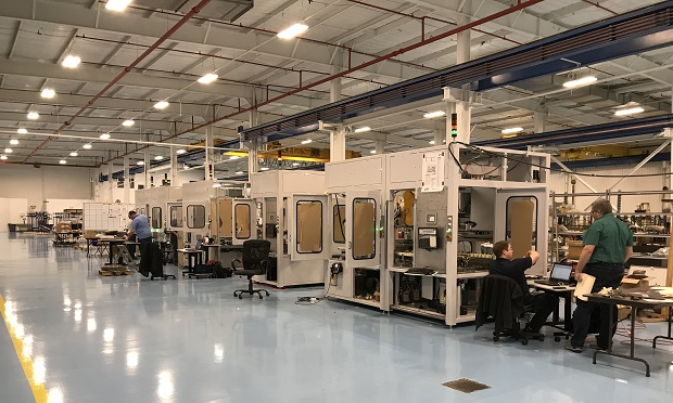 Photo of PIA manufacturing plant