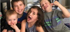 Drew Leatherberry's kids