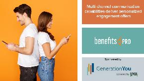 Multi channel communication capabilities deliver personalized engagement offers