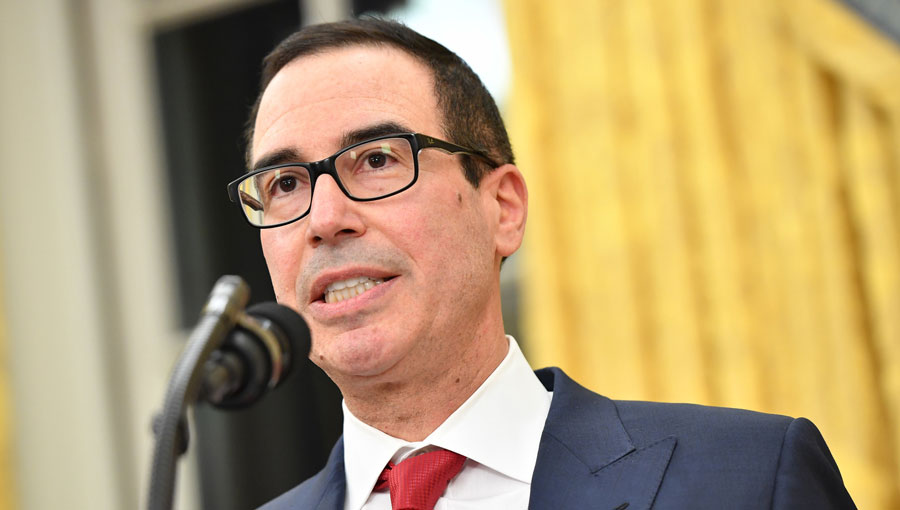 Treasury Secretary Steven Mnuchin. (Photo: AP)