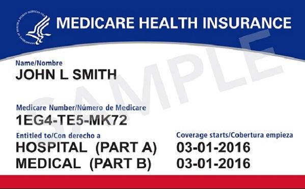 Medicare card (Image: CMS)