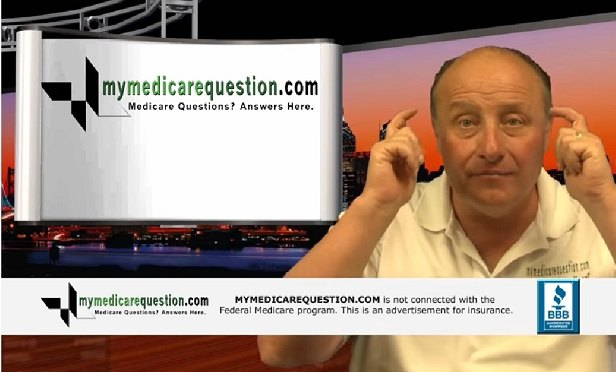 A screen capture from one of Scott Nichols' Medicare videos.