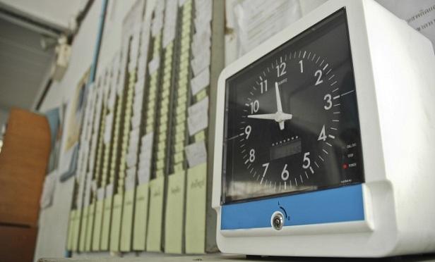 A timeclock