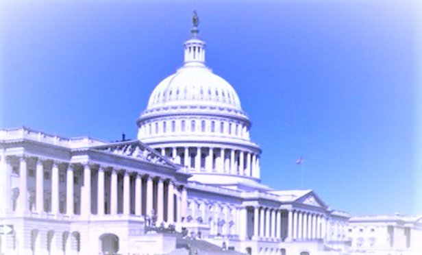 Pale, weird U.S. Capitol