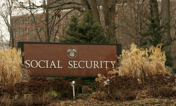 Social Security office in Baltimore. (Photo: Bloomberg)