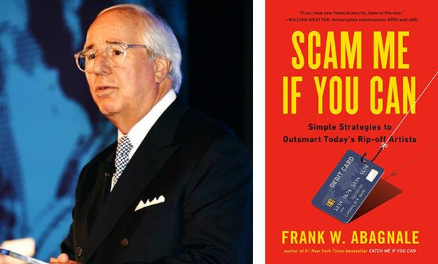 "Frank Abagnale and his book ""Scam Me If You Can"""