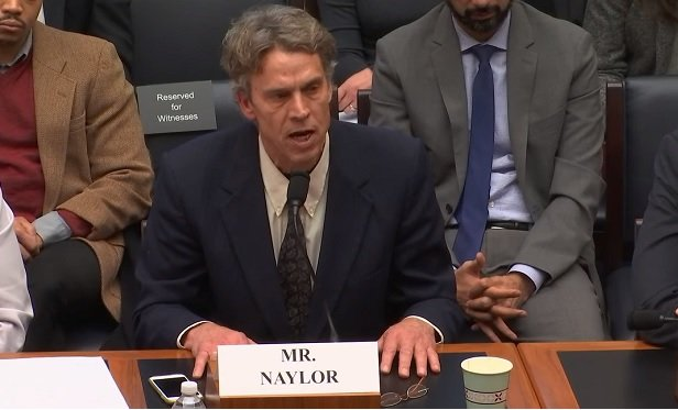 Bartlett Naylor (Credit: House Financial Services Committee)