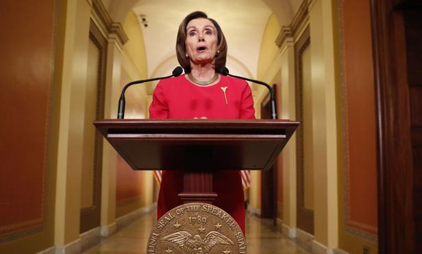 House Speaker Nancy Pelosi, D-Calif.