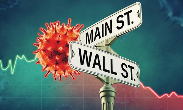 Coronavirus street sign