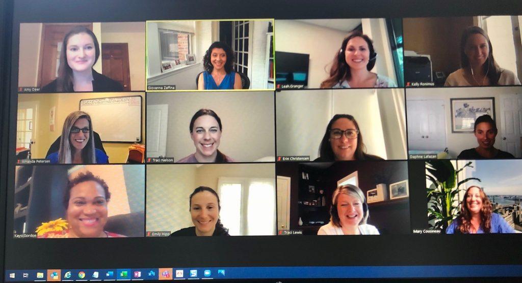 Zoom shot of Commonwealth Financial Women's Summit